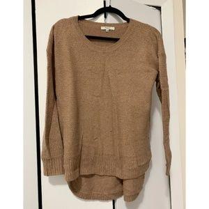 Madewell Camel Scoopneck sweater